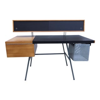 1950s Mid-Century Modern George Nelson for Herman Miller Home Office Desk For Sale