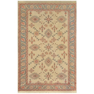 Mansour Quality Handmade Turkish Oushak Rug For Sale