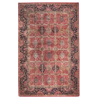 Antique Oversize Indian Carpet