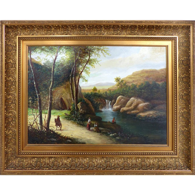 Landscape Oil Painting on Board - Image 1 of 10