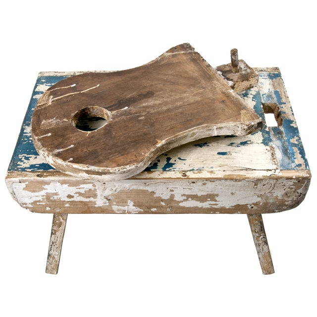 French Farmhouse Milking Stool - Image 5 of 5