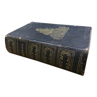 1853 Antique The Dramatic Works of William Shakspeare Book