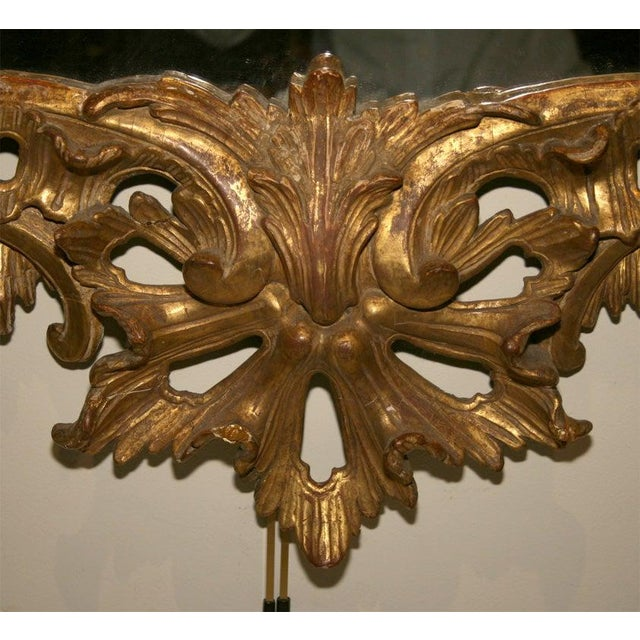 George II Giltwood Mirror, Circa 1750 For Sale - Image 4 of 9