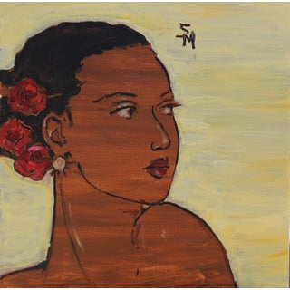"""""""The Red Roses"""" Contemporary Painting by Sarah Myers For Sale"""