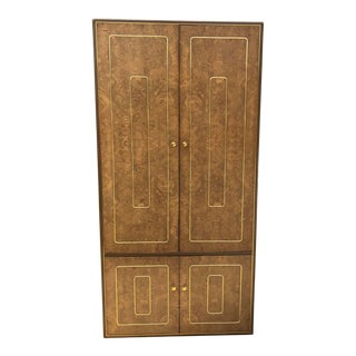 1970's Hollywood Regency Armoire For Sale
