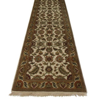 RugsinDallas Persian Style Hand Knotted Runner - 2′6″ × 15′9″ For Sale