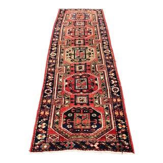 Vintage Persian Karajeh Runner - 3′1″ × 10′ For Sale