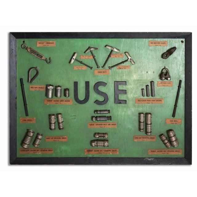 """""""Use"""" Framed Hardware Sign For Sale"""