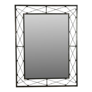 Metal Crafted Frame Mirror