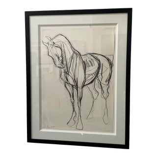 Original Sketch of War Horse For Sale