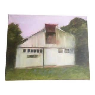 """""""Old Barn"""" Original Painting For Sale"""
