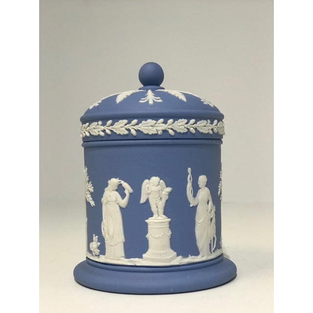 Early 20th Century Jasperware Wedgwood Vessels - Set of 3 For Sale - Image 5 of 13