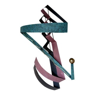 1980s Contemporary Wall Sculpture For Sale