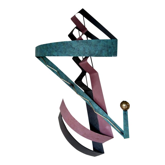 C. Jere 1980s Contemporary Wall Sculpture For Sale