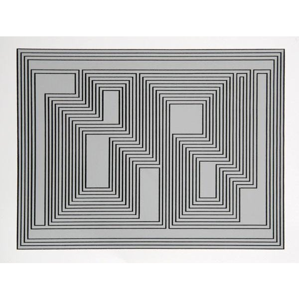 Artist: Josef Albers Portfolio: Formulation: Articulation (Double Portfolio) Title: Portfolio 1, Folder 32, Image 1 Year:...