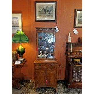18c Sheraton Satinwood Display Cabinet Preview