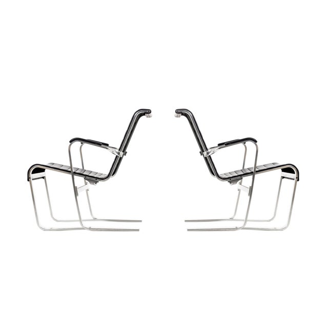 Pair of Marcel Breuer Lounge Chairs For Sale - Image 13 of 13