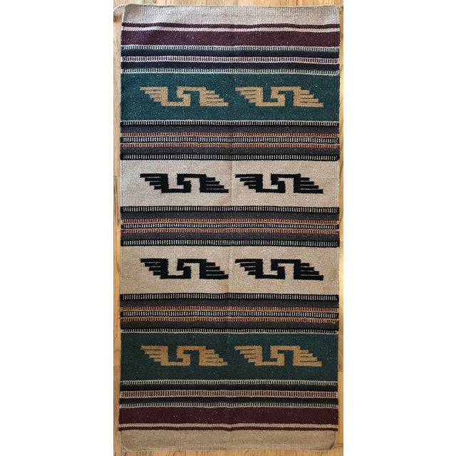 """Southwest Style Arizona Rug - 30"""" x 65"""" For Sale In New York - Image 6 of 6"""