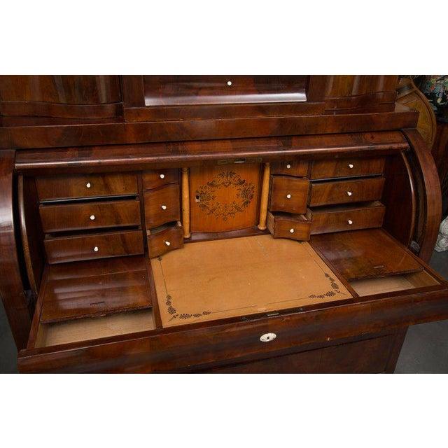 19th Century Danish Biedermeier Bureau Secretary Desk - Image 7 of 10