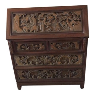 20th Century Chinese Secretary Desk For Sale