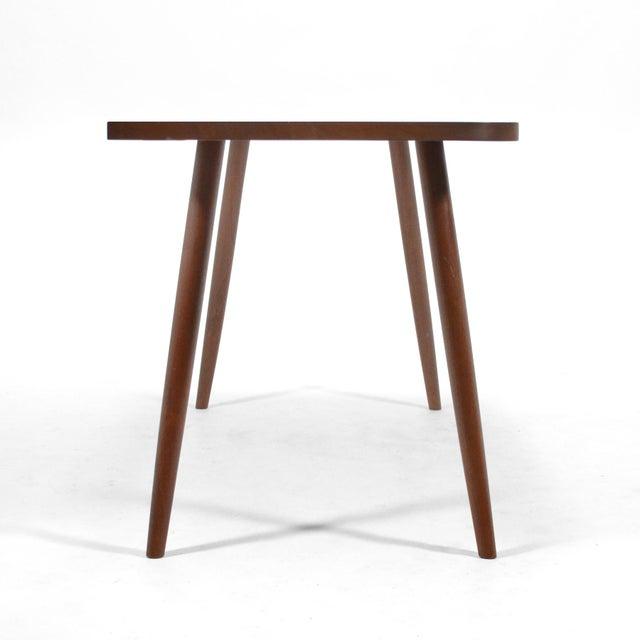 Robert Lovett Walnut Studio Craft Table/ Desk For Sale - Image 9 of 11