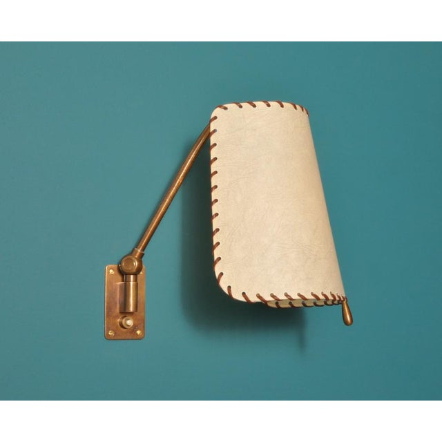 1940s Alfred Muller Wall Lamp, Switzerland 1940s For Sale - Image 5 of 10
