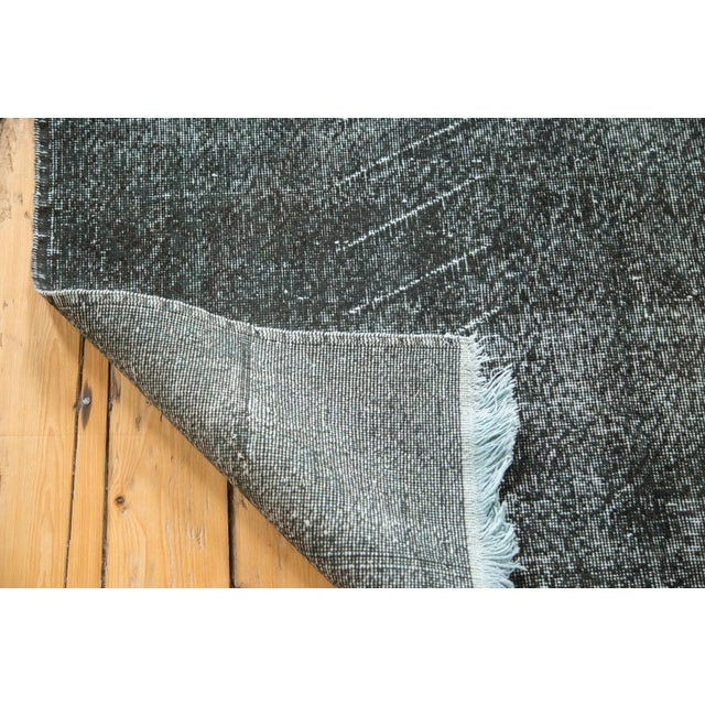 """Vintage Overdyed Distressed Runner - 4'8"""" x 12'6"""" - Image 8 of 9"""