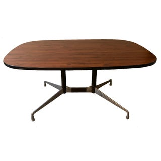 Charles and Ray Eames for Herman Miller Aluminum Group Mid Century Modern Conference Table For Sale
