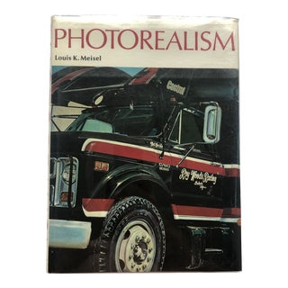 Photorealism by Louis Miesel 1989 Edition For Sale