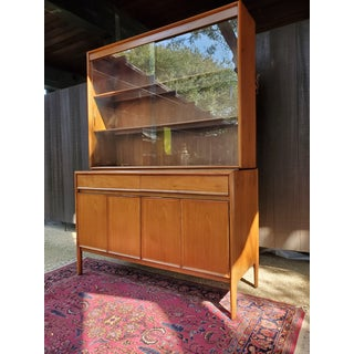 Drexel Mid-Century Modern Parallel China Cabinet Preview