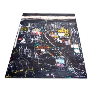 """Vegas 1"" Original Acrylic on Canvas by Cole Sternberg"