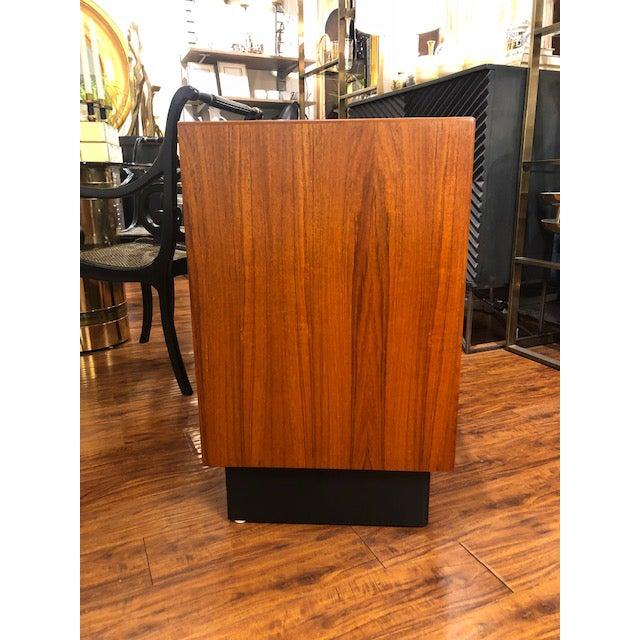 Westnofa Furniture 1960's Westnofa Teak Three Drawer Cabinet For Sale - Image 4 of 7