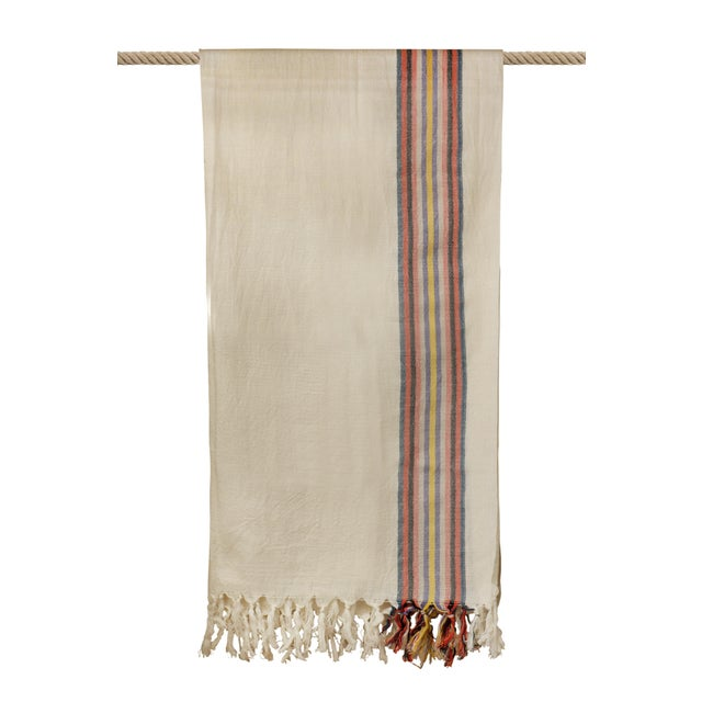 2020s Turkish Hand Made Towel With Natural/Organic Cotton For Sale - Image 5 of 8