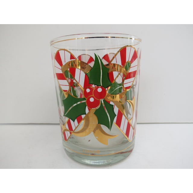 Culver Candy Cane Glasses - S/4 - Image 6 of 6