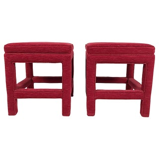 Parsons Stools, Pair For Sale