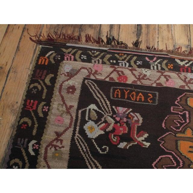 Large Kars Kilim For Sale - Image 4 of 7