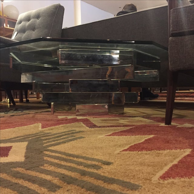 Paul Mayen for Habitat Chrome Stacked Table For Sale In Milwaukee - Image 6 of 6