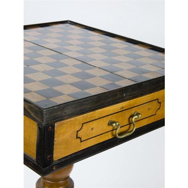 19th Century Italian Walnut Game Table - Image 6 of 9