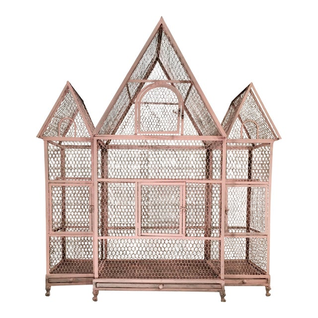 Pink Chateauseque Birdcage - Image 1 of 11