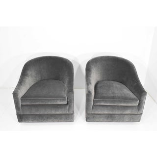 Pair of Harvey Probber Swivel Lounge Chairs Preview