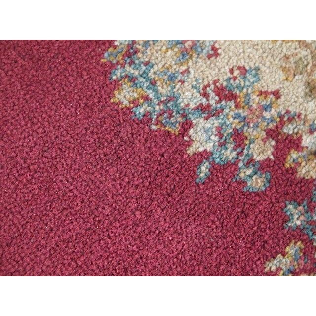 1980s Karastan Red Kirman Area Rug - 4′4″ × 6′9″ For Sale - Image 12 of 13