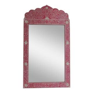 Pink Bone Inlay Mirror