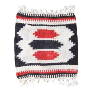 Vintage Woven Southwestern Textile For Sale