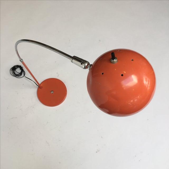 Vintage Orange Arc Lamp - Image 6 of 11
