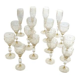 Venetian Glass Set