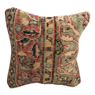 Handmade Turkish Oushak Pillow Cover For Sale