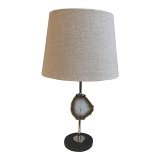 Renwil Small-Natural Stone Table Lamp For Sale