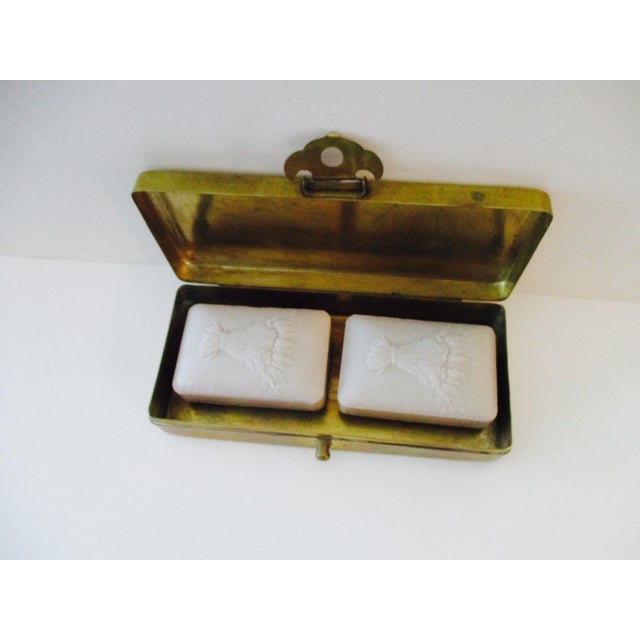 Neiman Marcus Hollywood Regency Brass & Copper Trinket Box - Image 3 of 10