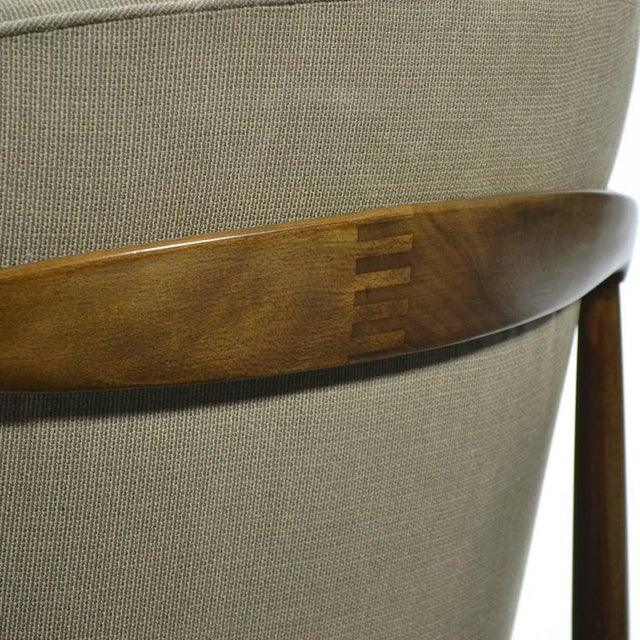 Finn Andersen Barrel-Back Lounge Chairs - Image 7 of 11