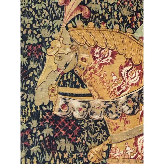 1960s French Style Tapestry For Sale - Image 4 of 8